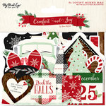 My Minds Eye - Comfort and Joy Collection - Christmas - Mixed Bag with Glitter Accents
