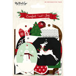My Minds Eye - Comfort and Joy Collection - Christmas - Decorative Tags