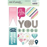 My Mind's Eye - Cut and Paste Collection - Adorbs - Cardstock Stickers - Special