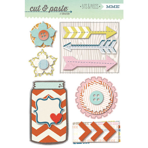 My Mind's Eye - Cut and Paste Collection - Presh - Bits and Pieces - Inspired