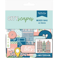 My Minds Eye - Cityscapes Collection - Ephemera - Mixed Bag
