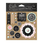 My Mind's Eye - Chalk Studio Collection - Decorative Brads