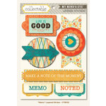 My Mind's Eye - Collectable Collection - Notable - 3 Dimensional Stickers - Memo
