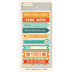 Collectable Collection - Notable - Cardstock Stickers - Memo Label by My Mind's Eye