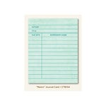 My Mind's Eye - Collectable Collection - Notable - Journal Card - Memo