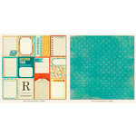 Collectable Collection - Notable - 12 x 12 Double Sided Paper - Documented - Memo by My Mind's Eye