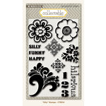 Collectable Collection - Notable - Clear Acrylic Stamps - Silly by My Mind's Eye