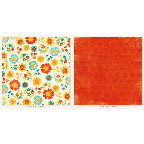 My Mind's Eye - Collectable Collection - Notable - 12 x 12 Double Sided Paper - Petite