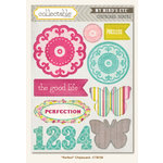 My Mind's Eye - Collectable Collection - Memorable - Chipboard Stickers - Perfect