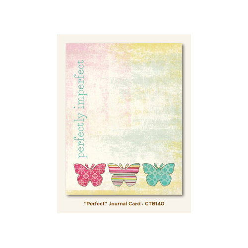 My Mind's Eye - Collectable Collection - Memorable - Journal Card - Perfect