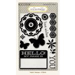 Collectable Collection - Memorable - Clear Acrylic Stamps - Hello by My Mind's Eye