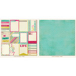 My Mind's Eye - Collectable Collection - Memorable - 12 x 12 Double Sided Paper - Journal