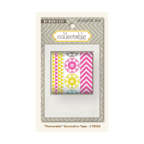 My Mind's Eye - Collectable Collection - Notable - Decorative Tape - Memorable