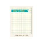 My Mind's Eye - Collectable Collection - Remarkable - Journal Card - Smile