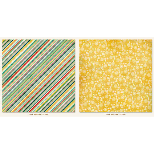 My Mind's Eye - Collectable Collection - Remarkable - 12 x 12 Double Sided Paper - Beam