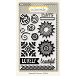 My Mind's Eye - Collectable Collection - Remarkable - Acrylic Stamps - Beautiful