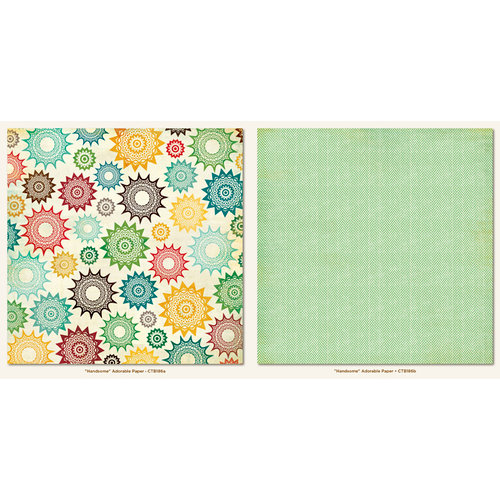 My Mind's Eye - Collectable Collection - Remarkable - 12 x 12 Double Sided Paper - Adorable