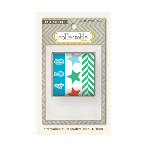 My Mind's Eye - Collectable Collection - Remarkable - Decorative Tape
