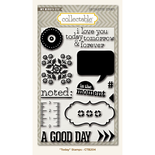 Collectable Collection - Unforgettable - Clear Acrylic Stamps - Today by My Mind's Eye
