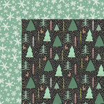 My Minds Eye - Oh What Fun Collection - Christmas - 12 x 12 Double Sided Paper - Wonderland