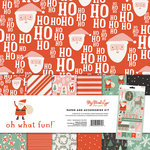 My Minds Eye - Oh What Fun Collection - Christmas - 12 x 12 Paper and Accessories Kit