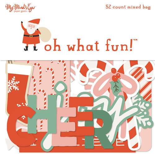 My Minds Eye - Oh What Fun Collection - Christmas - Mixed Bag