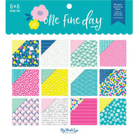 My Minds Eye - One Fine Day Collection - 6 x 6 Paper Pad