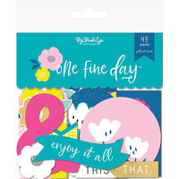 My Minds Eye - One Fine Day Collection - Mixed Bag with Foil Accents