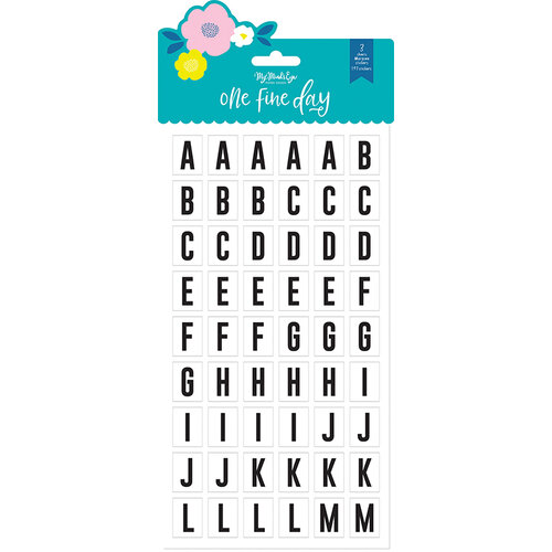 My Minds Eye - One Fine Day Collection - Marquee Stickers