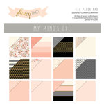 My Mind's Eye - Fancy That Collection - 6 x 6 Paper Pad with Foil Accents