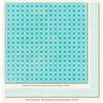 My Mind's Eye - Follow Your Heart Collection - Be Amazing - 12 x 12 Double Sided Paper - Geo Star