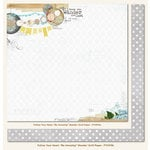 My Mind's Eye - Follow Your Heart Collection - Be Amazing - 12 x 12 Double Sided Paper - Wander