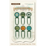 My Mind's Eye - Follow Your Heart Collection - Be Amazing - Paper Clips