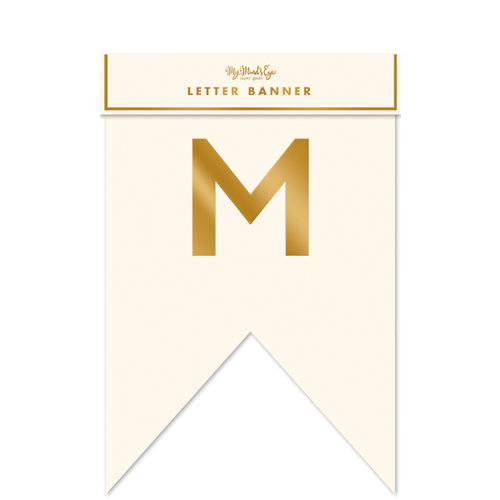 My Minds Eye - Fancy Mr and Mrs Letter Banner