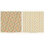 My Mind's Eye - Boy Crazy Collection - 12 x 12 Double Sided Paper - Ready Set Go