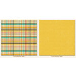 Boy Crazy Collection - 12 x 12 Double Sided Paper - Plaid by My Mind's Eye