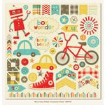 Boy Crazy Collection - 12 x 12 Cardstock Stickers by My Mind's Eye