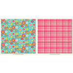 My Mind's Eye - My Girl Collection - 12 x 12 Double Sided Paper - Bouquet