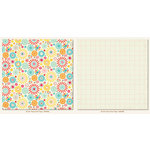 My Mind's Eye - My Girl Collection - 12 x 12 Double Sided Paper - Fancy Free