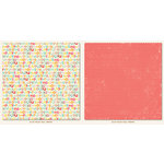 My Mind's Eye - My Girl Collection - 12 x 12 Double Sided Paper - Playful