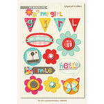 My Mind's Eye - My Girl Collection - 3 Dimensional Stickers
