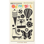 My Girl Collection - Clear Acrylic Stamps by My Mind's Eye