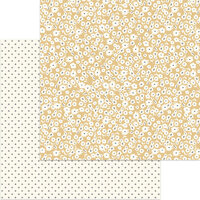 My Minds Eye - Gingham Gardens Collection - 12 x 12 Double Sided Paper - Hannah
