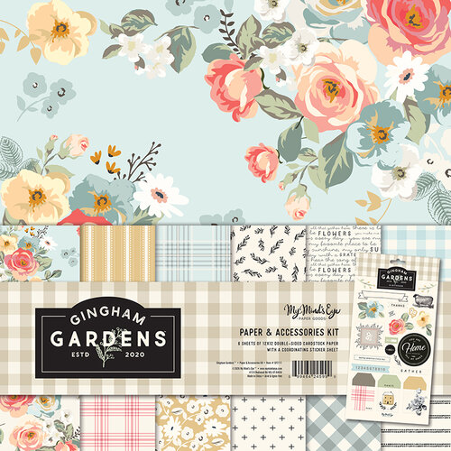 My Minds Eye - Gingham Gardens Collection - 12 x 12 Collection Pack