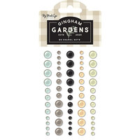 My Minds Eye - Gingham Gardens Collection - Enamel Dots