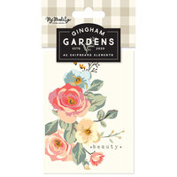 My Minds Eye - Gingham Gardens Collection - Journal Cards