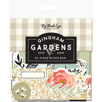 My Minds Eye - Gingham Gardens Collection - Ephemera - Mixed Bag