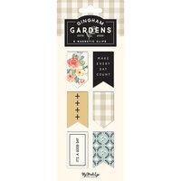 My Minds Eye - Gingham Gardens Collection - Magnetic Clips