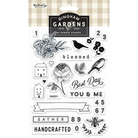My Minds Eye - Gingham Gardens Collection - Clear Acrylic Stamps