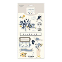 My Minds Eye - Gingham Foundry Collection - Chipboard Embellishments